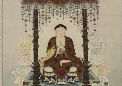 釋迦牟尼佛與四大天王